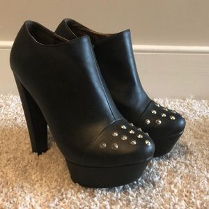 Studded booties size 9